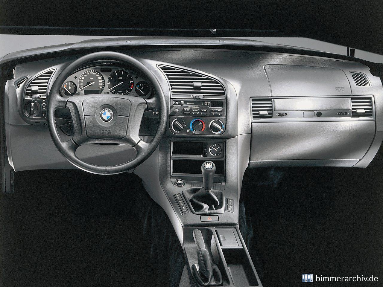 Baureihenarchiv für BMW Fahrzeuge · BMW 3er Interieur · bimmerarchiv.de
