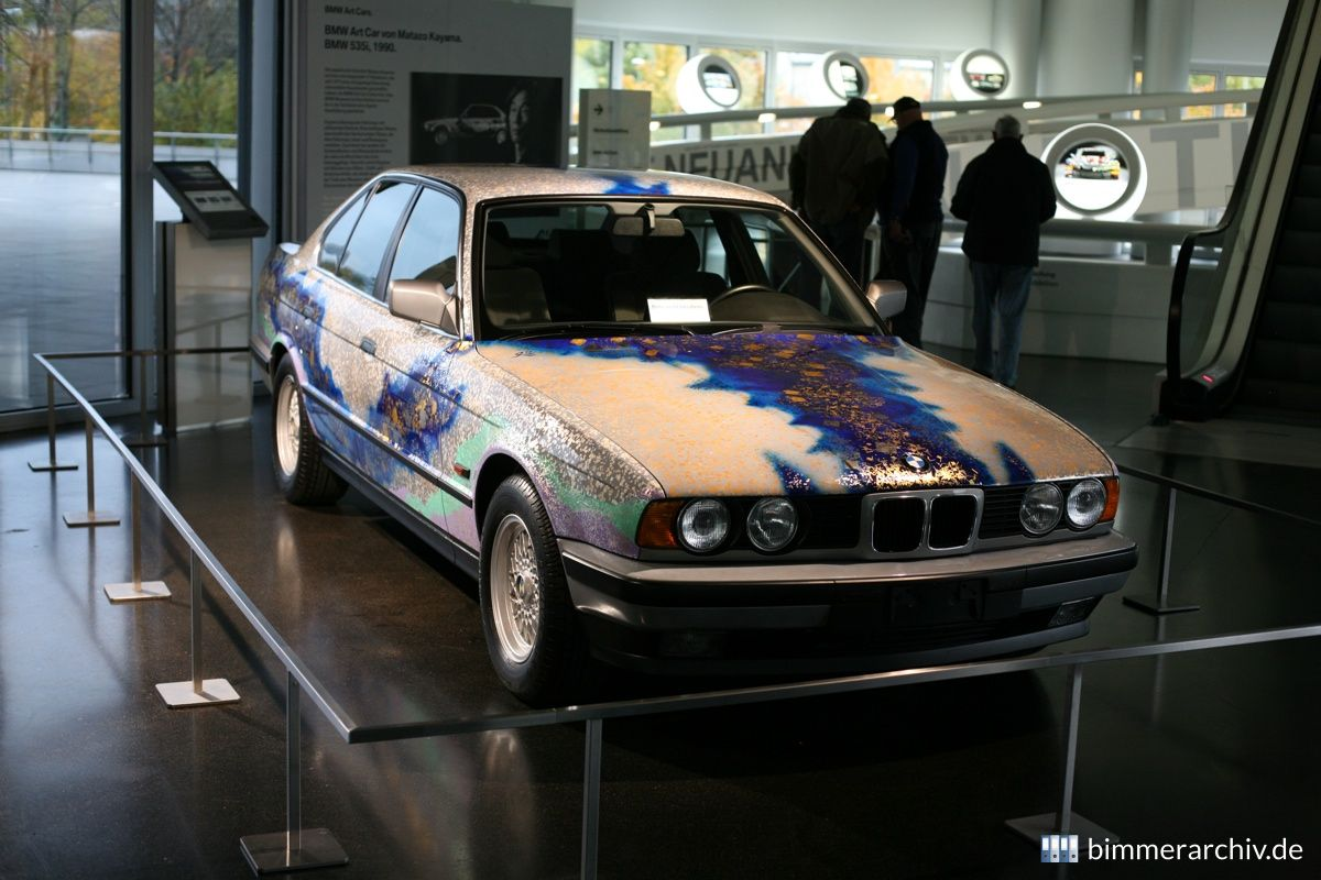 BMW 535i - Matazo Kayama, Art Car, 1990