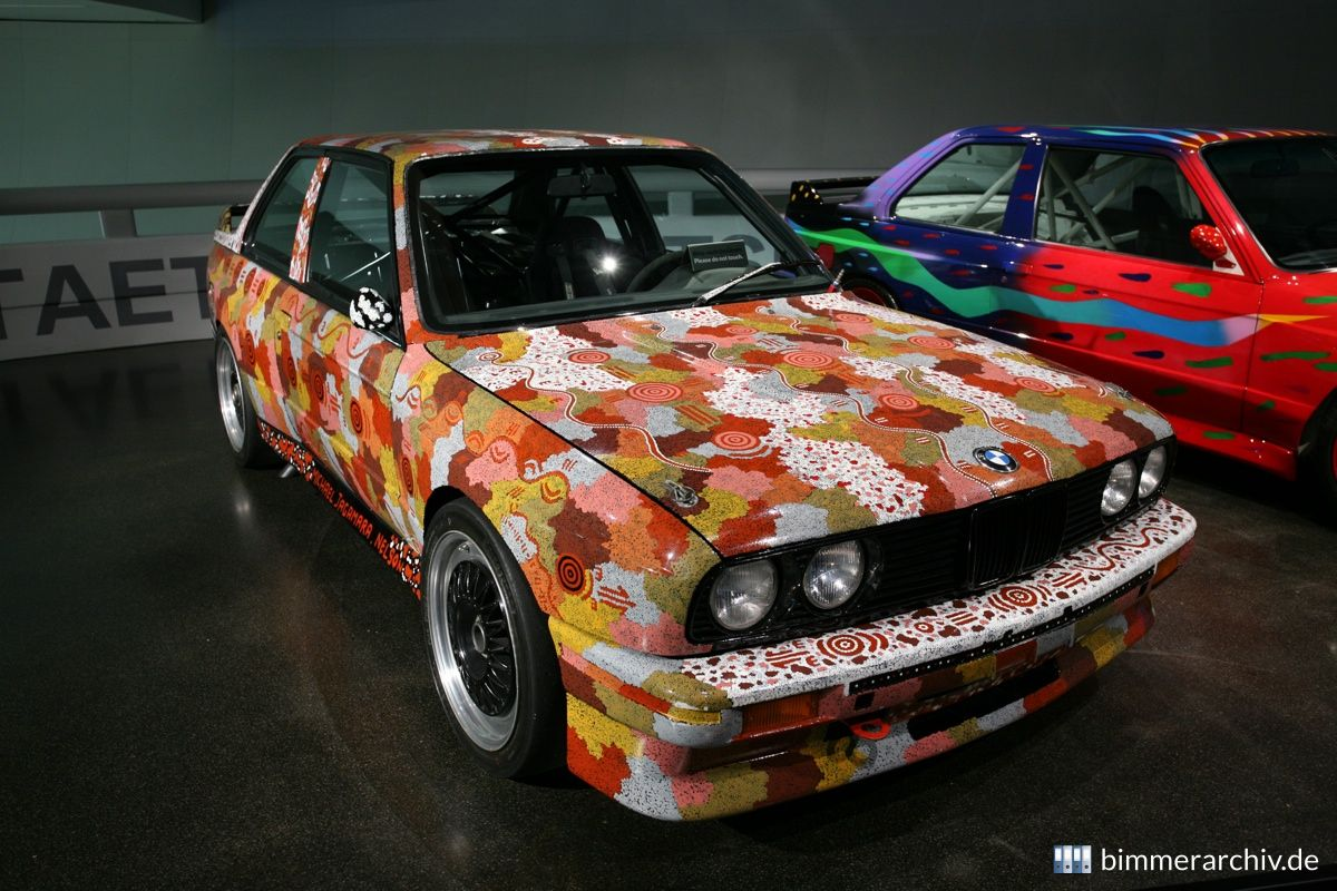 BMW M3 Gruppe A Rennversion - Michael Jagamara Nelson, Art Car, 1989