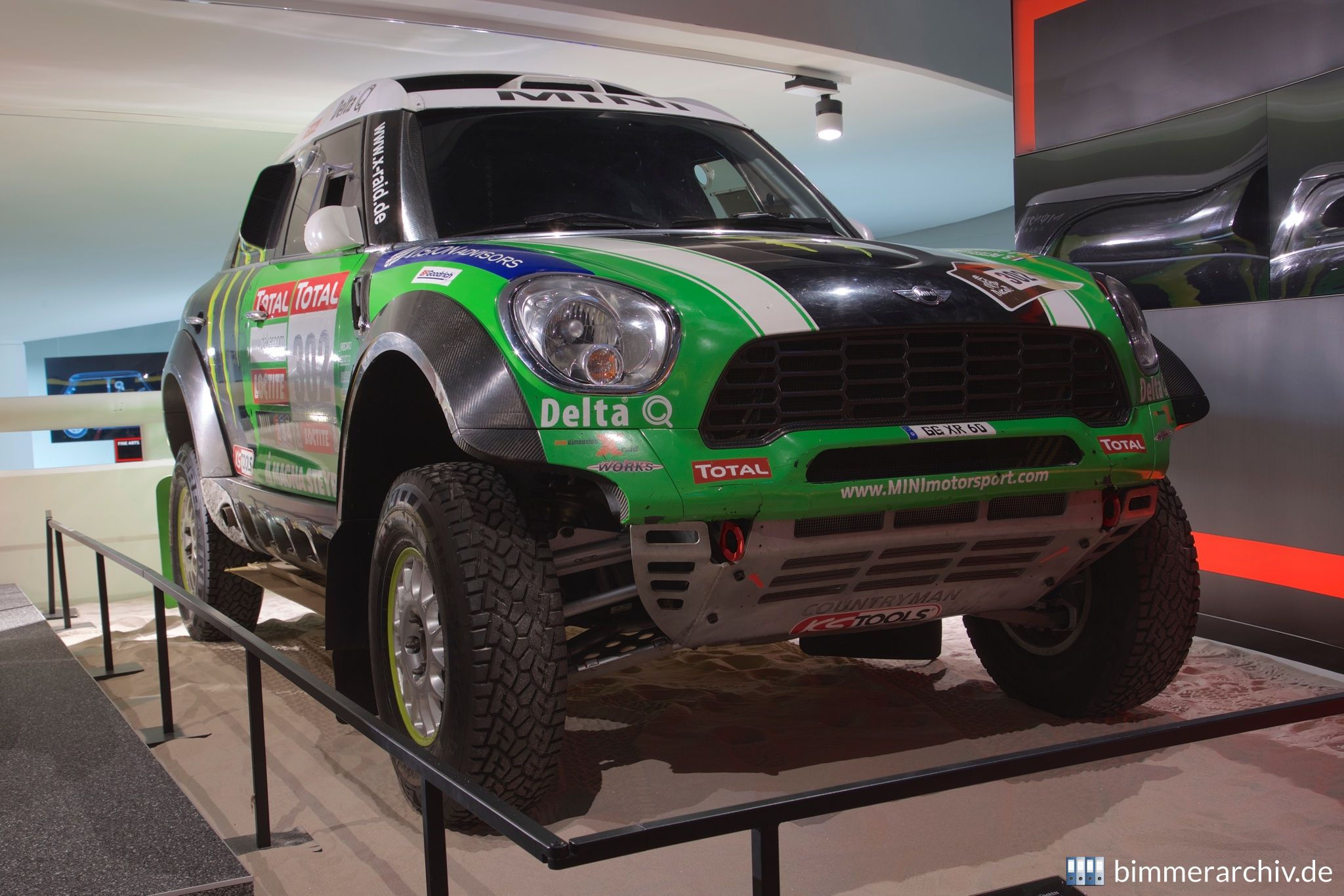 Mini All4 Racing - Monster Energy X-raid Team - Dakar 2012