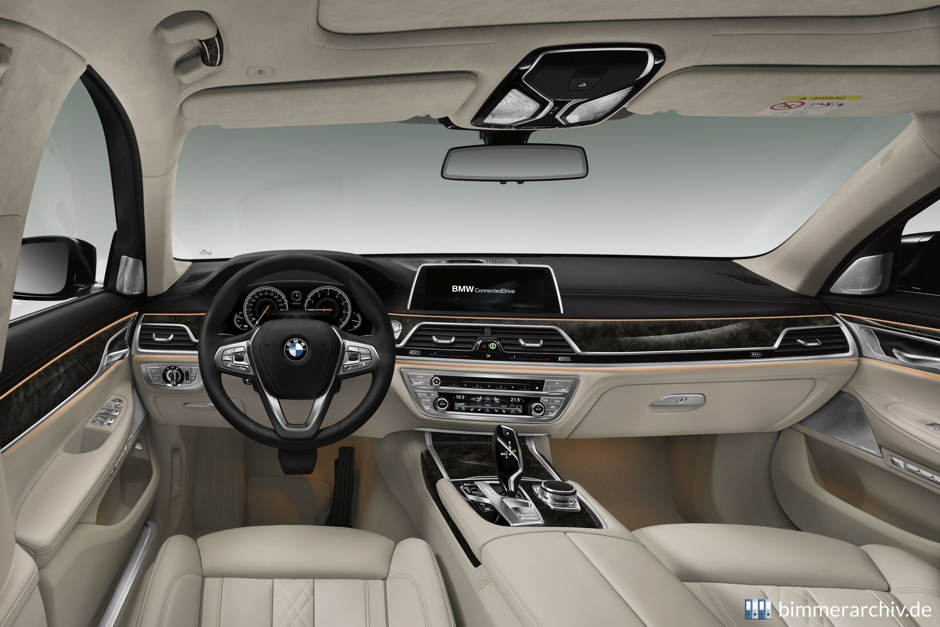 Baureihenarchiv für BMW Fahrzeuge · BMW 7er - Interieur ...