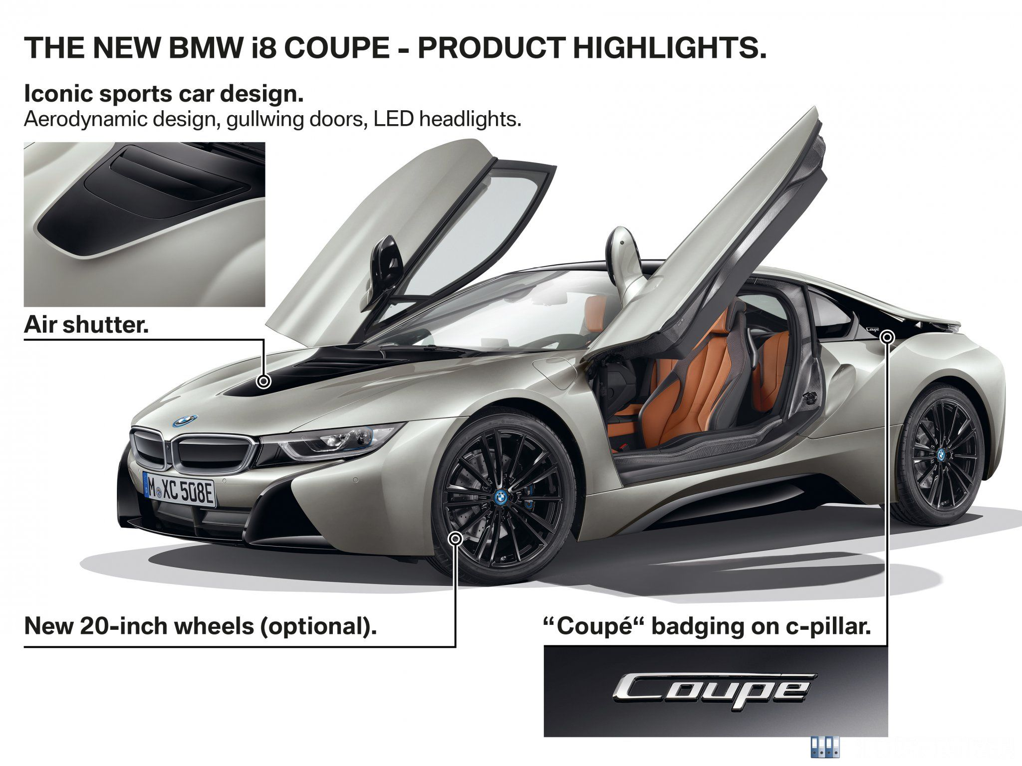 BMW i8 Coupé - Highlights