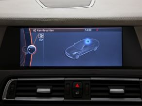 BMW 7er High Security - Control Display