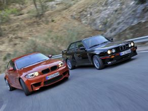 BMW 1er M Coupé und BMW M3 Sport Evolution