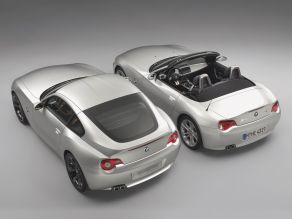 BMW Concept Z4 Coupé mit BMW Z4 Roadster
