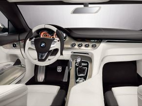 BMW Concept CS - Interieurdesign mit Layer-Designkonzept