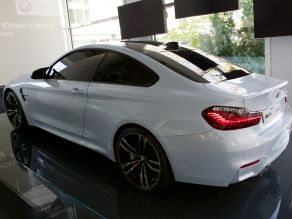 BMW M4 Concept Iconic Lights - BMW Lenbachplatz