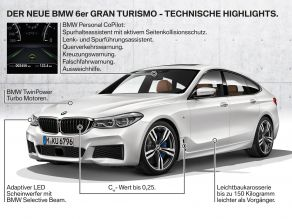 BMW 6er Gran Turismo - Features