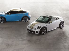 MINI Coupé Concept und MINI Roadster Concept