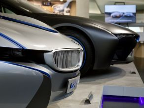 BMW Vision EfficientDynamics, BMW i8 Skyfall