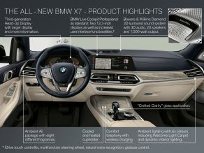 BMW X7 - Highlights