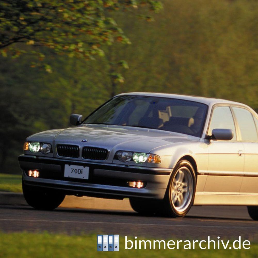 Baureihenarchiv Für BMW Fahrzeuge · BMW 740i · Bimmerarchiv.de