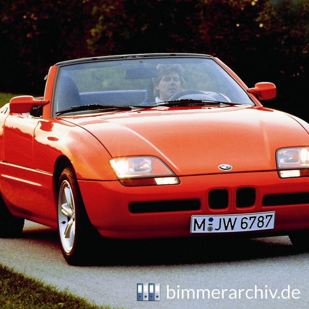 Baureihenarchiv F 252 R Bmw Fahrzeuge 183 Bmw Z1 Roadster 183 Bimmerarchiv De