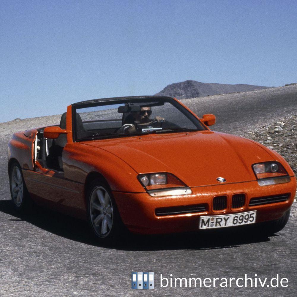 Bmw Zed 1: BMW Baureihenarchiv · BMW Z1 Roadster · 20. Februar 2009