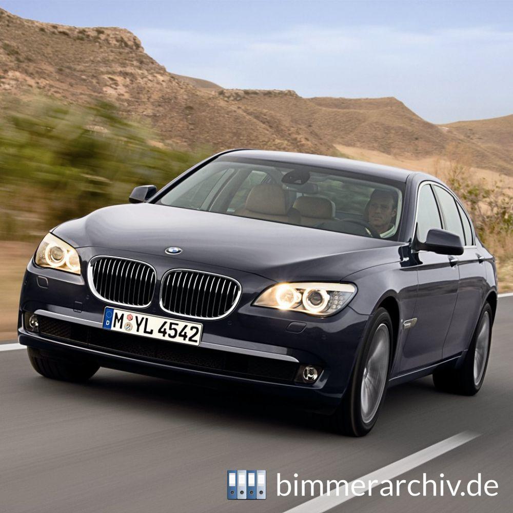 Baureihenarchiv Für BMW Fahrzeuge · Die Neue BMW 7er Reihe