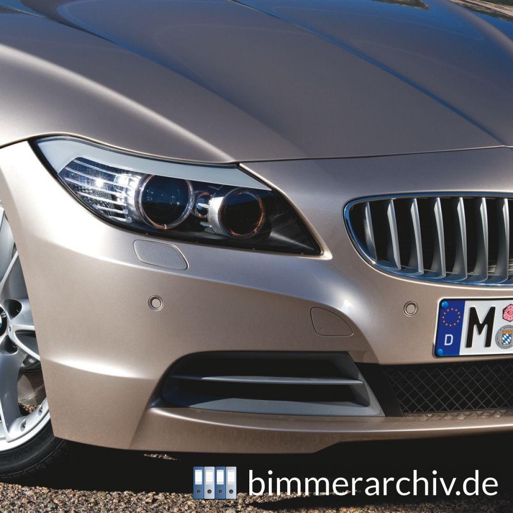 Baureihenarchiv F 252 R Bmw Fahrzeuge 183 Der Neue Bmw Z4