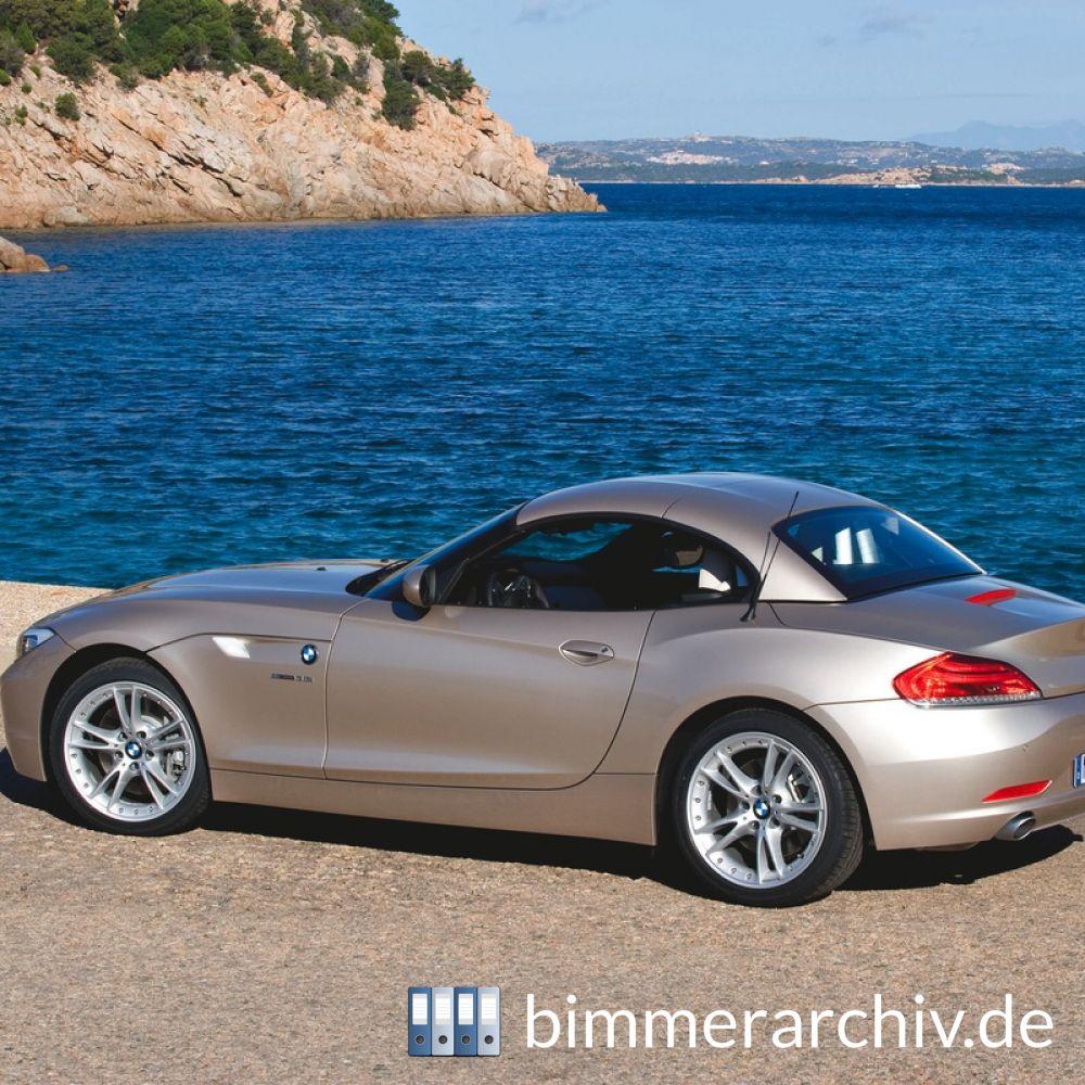Bmw Z4 Sdrive35i: Baureihenarchiv Für BMW Fahrzeuge · Der Neue BMW Z4