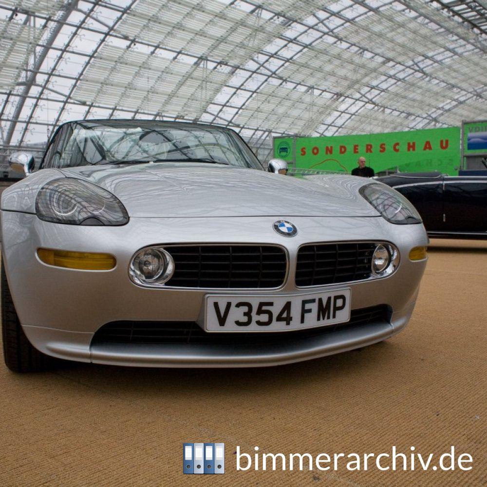 Baureihenarchiv F 252 R Bmw Fahrzeuge 183 Bmw Z8 James Bond