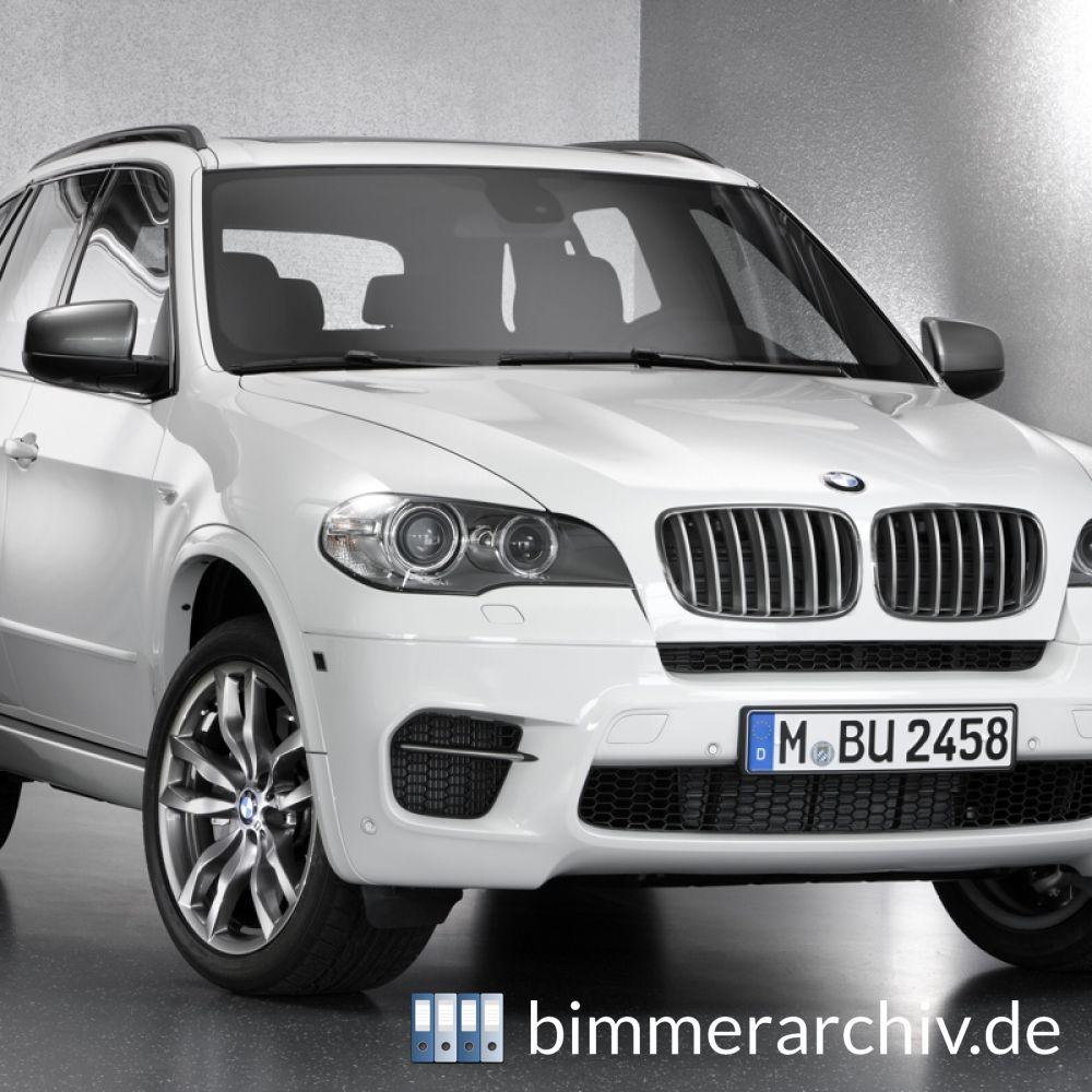 Baureihenarchiv Für BMW Fahrzeuge · BMW X5 M50d