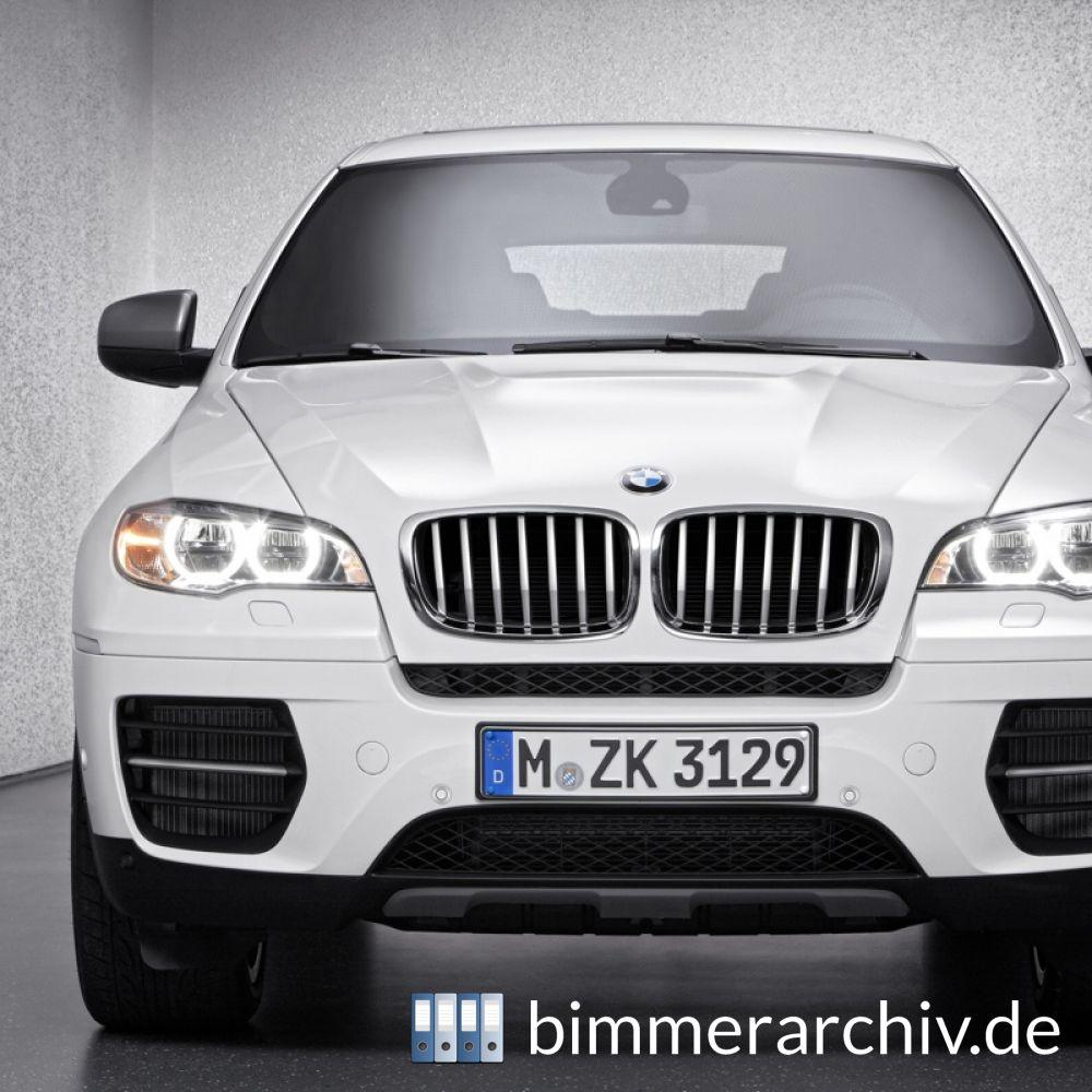 BMW Baureihenarchiv · Der BMW X5 M50d Und BMW X6 M50d · 26
