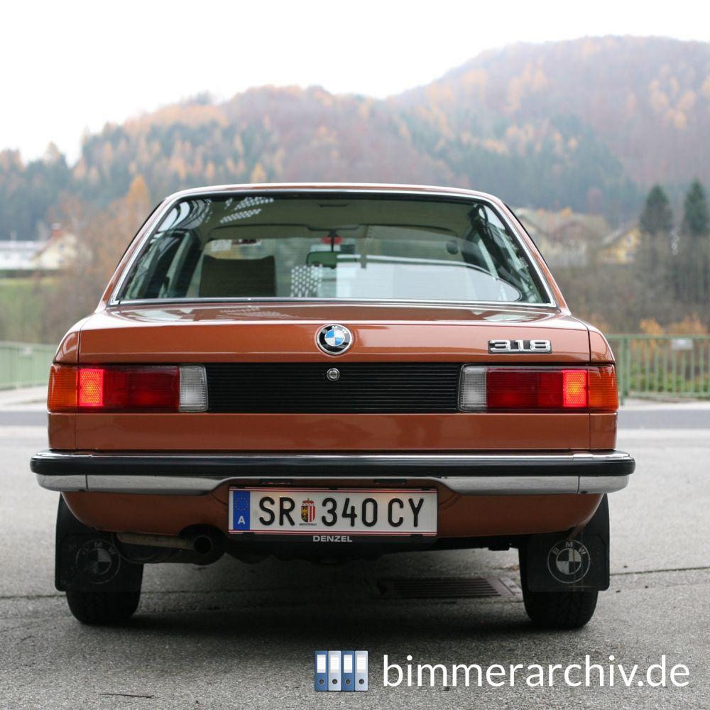Baureihenarchiv Für BMW Fahrzeuge · BMW 318 · Bimmerarchiv.de