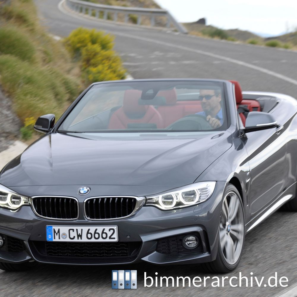 bmw baureihenarchiv das neue bmw 4er cabrio 13. Black Bedroom Furniture Sets. Home Design Ideas