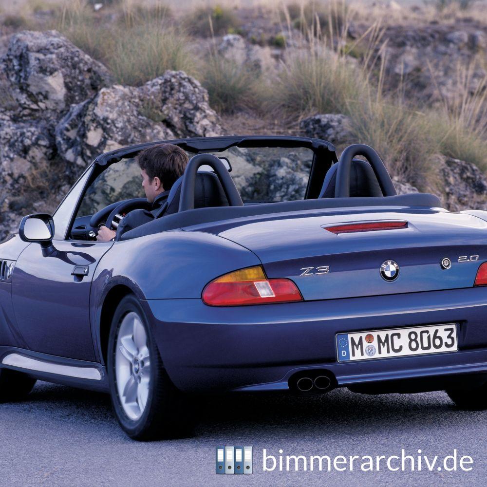 Baureihenarchiv F 252 R Bmw Fahrzeuge 183 Bmw Z3 Roadster 2 0 183 Bimmerarchiv De