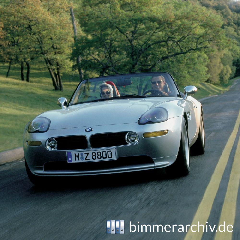Baureihenarchiv F 252 R Bmw Fahrzeuge 183 Bmw Z8 Roadster 183 Bimmerarchiv De