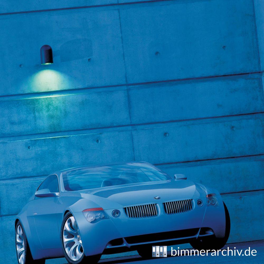 Bmw Z9: Baureihenarchiv Für BMW Fahrzeuge · BMW Z9 Gran Turismo