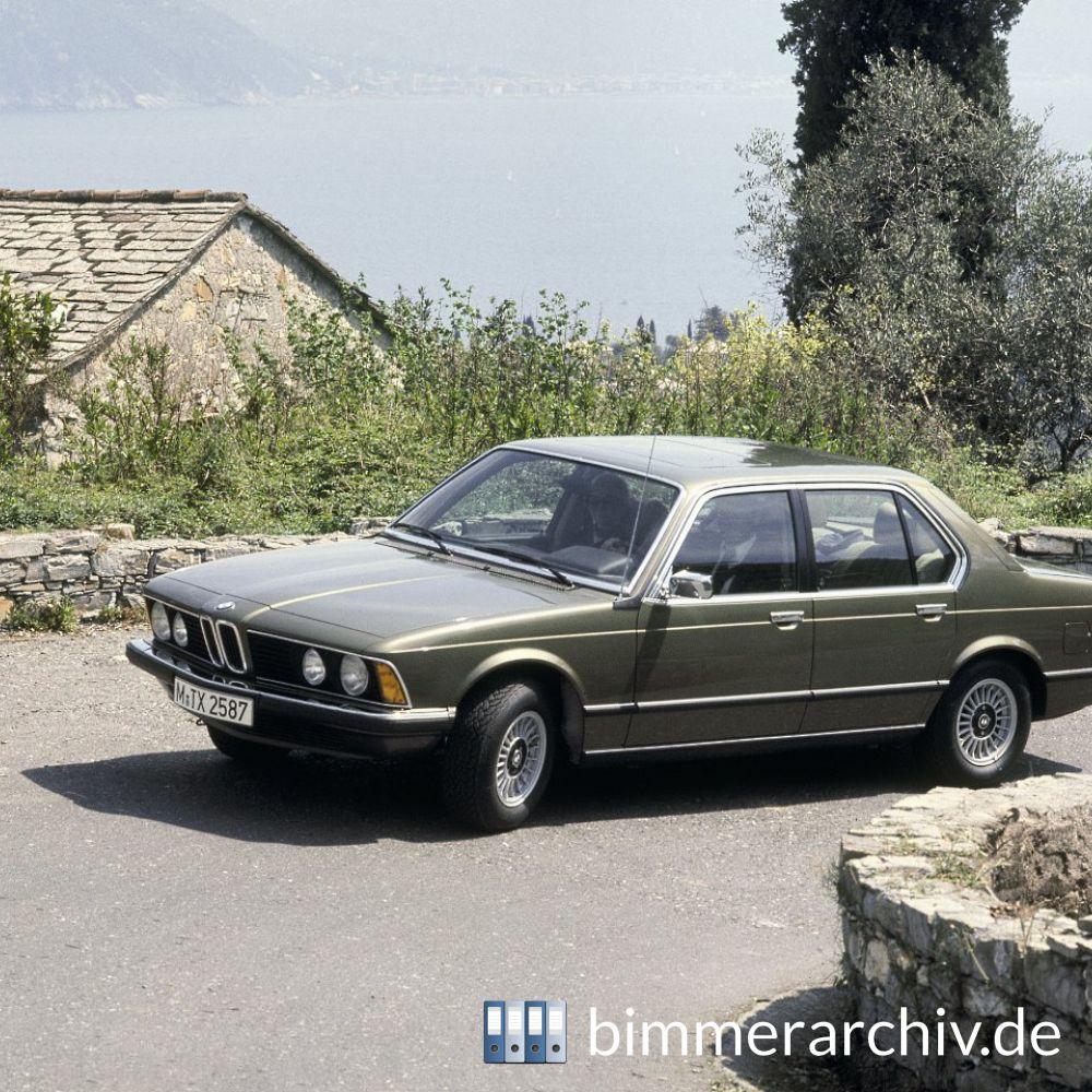Baureihenarchiv Für BMW Fahrzeuge · BMW 733i · Bimmerarchiv.de