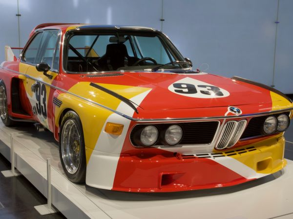 BMW 3.0 CSL - Alexander Calder, Art Car, 1975