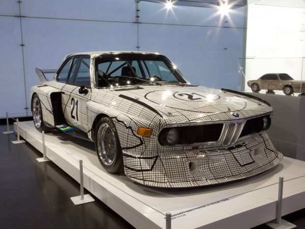 BMW 3.0 CSL - Frank Stella, Art Car, 1976