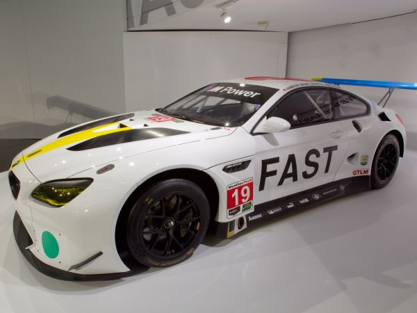 BMW M6 GTLM - John Baldessari, Art Car, 2016