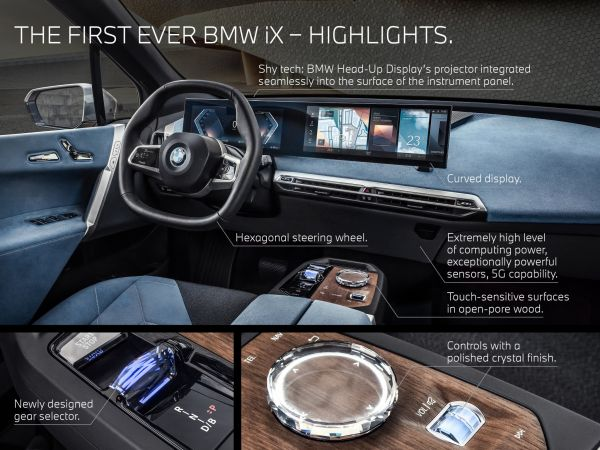 BMW iX - Highlights