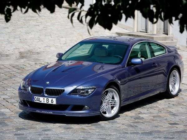 BMW Alpina B6 S Coupé