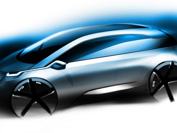 BMW Megacity Vehicle (MCV) 2013