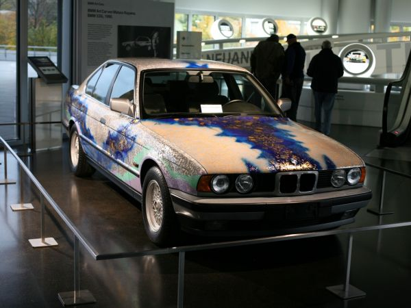 BMW Art Car Collection im BMW Museum