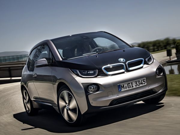 BMW i3 - Andesitsilber