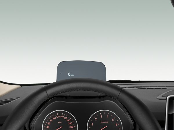 BMW 225i Active Tourer - Head-Up Display
