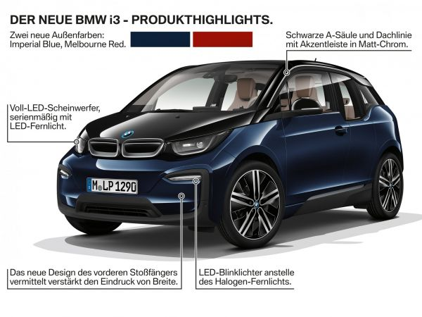 BMW i3 - Produkt Highlights