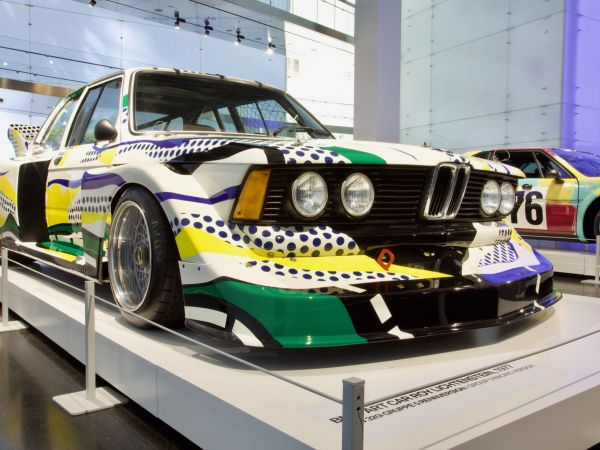 BMW 320i Gruppe 5 Rennversion - Roy Lichtenstein, Art Car, 1977
