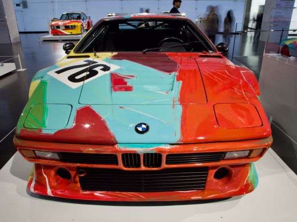 BMW M1 Gruppe 4 Rennversion - Andy Warhol, Art Car, 1979