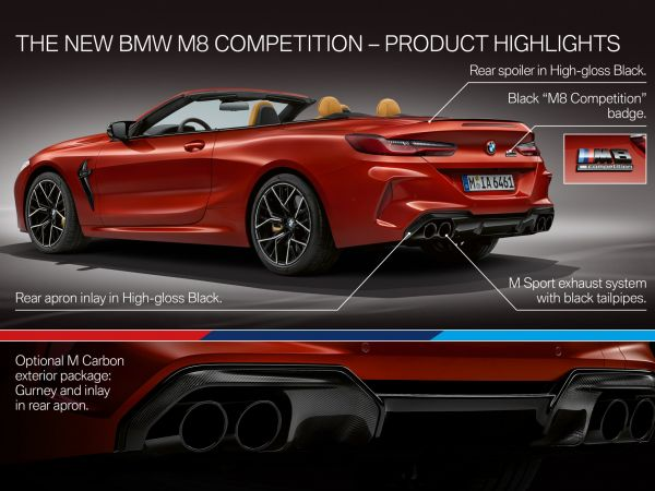BMW M8 - Highlights
