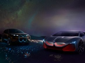 BMW Vision iNext and BMW Vision M NEXT