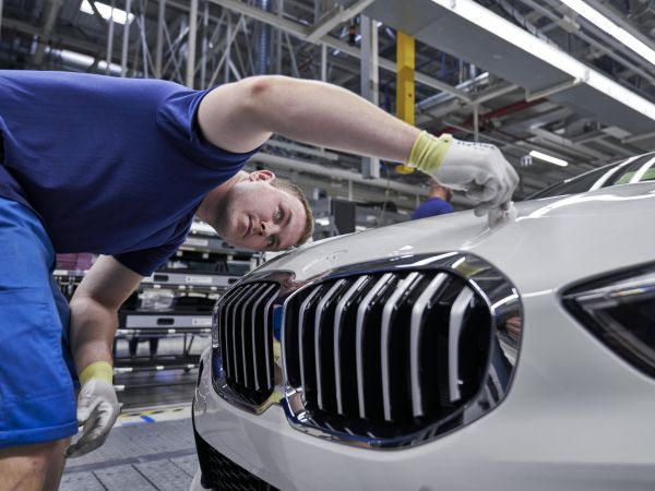 BMW 1 Series in the Assembly