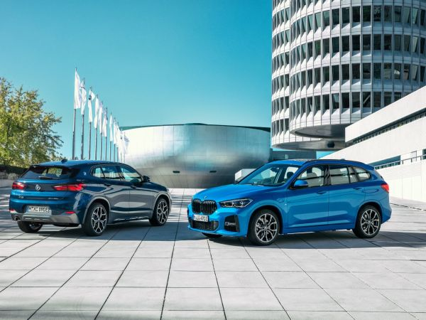BMW X1 and X2 xDrive25e