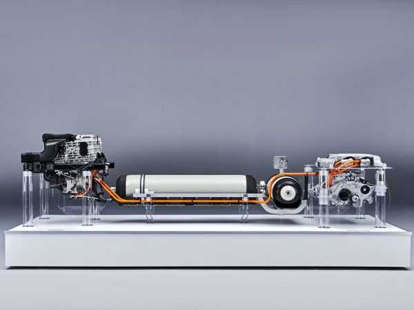 BMW i Hydrogen NEXT - powertrain