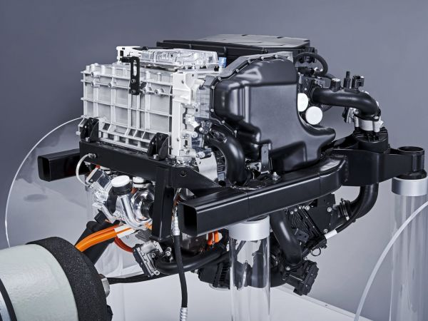 BMW i Hydrogen NEXT - fuel cell system