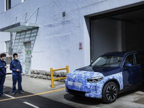 Production Start of the BMW iX3