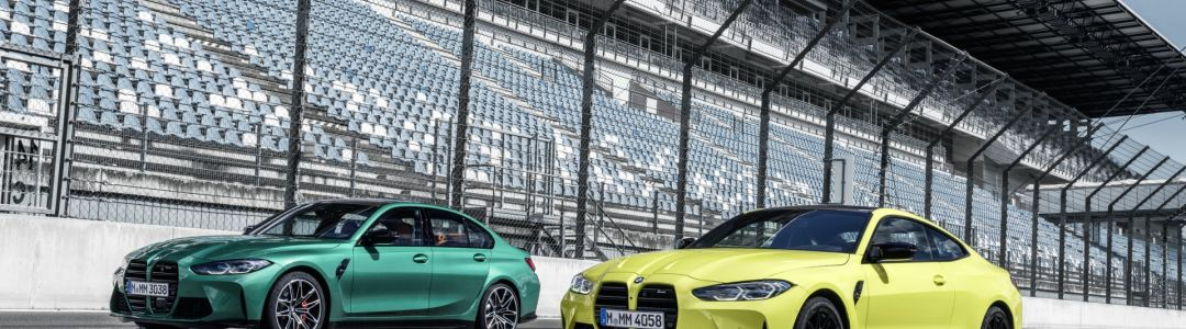 BMW M3 Competition Sedan and BMW M4 Competition Coupe